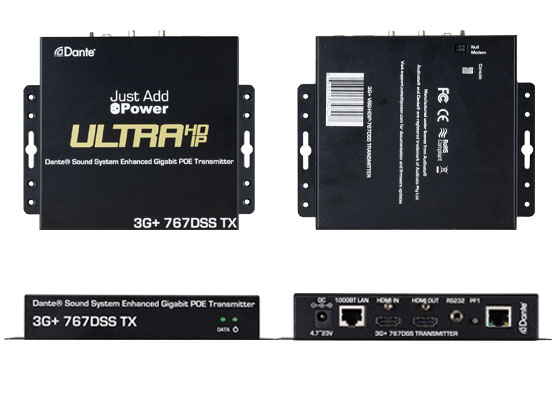 HDMI over IP transmitters (video encoders) and receivers (video